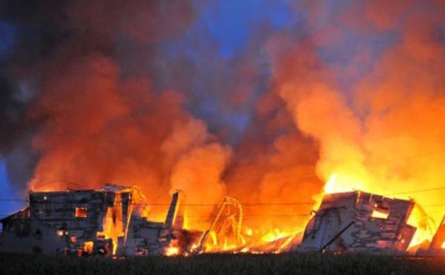 Dégâts matériels dans un incendie d'usine à Soualem