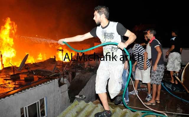 D'importants dégâts matériels dans un incendie à Casablanca