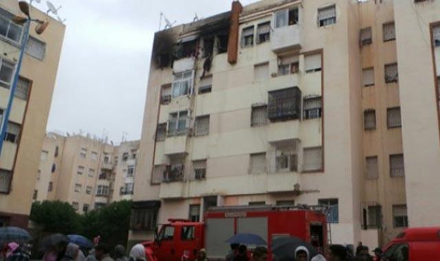 Casablanca : Trois morts dans un incendie à Sidi Maarouf