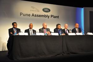Jaguar-Land Rover inaugure sa première usine en Inde
