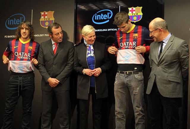 Intel et le FC Barcelone scellent un accord de partenariat