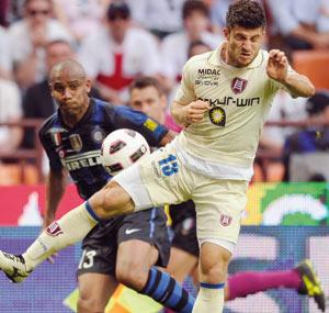 Championnat d'Italie : L'Inter se réveille et bat difficilement le Chievo