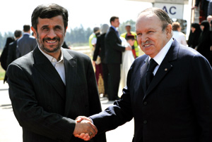 Algérie-Iran : rencontre entre Abdelaziz Bouteflika et Mahmoud Ahmadinejad à Alger