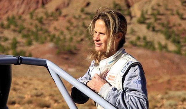 Isabelle Patissier : Nous prévoyons  de participer au rallye Dakar-Argentine-Chili 2014 avec notre buggy