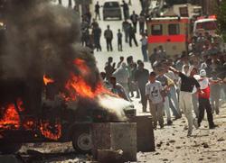 Gaza : après le retrait, les bombes