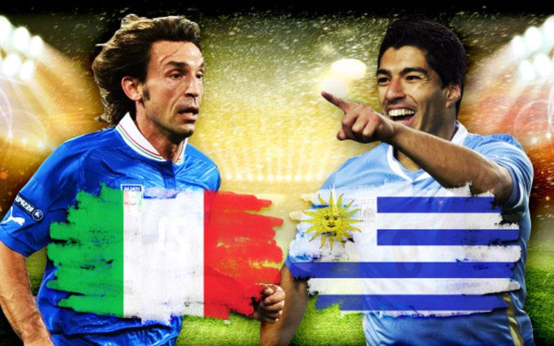Coupe du Monde 2014 – Italie/Uruguay : Un Champion du monde en moins