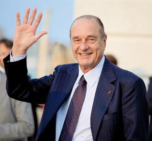 La gauche vole au secours de Jacques Chirac