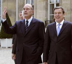 Schröder à la recousse de Chirac