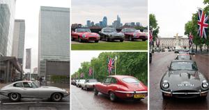 Jaguar Type E : Un rassemblement pour fêter les 50 ans