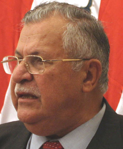 Irak : Talabani pour la présence US