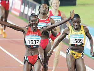 Mondiaux-2007 : Janeth, le diamant du Kenya