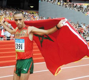 Jawad Gharib décroche la médaille d'argent au marathon