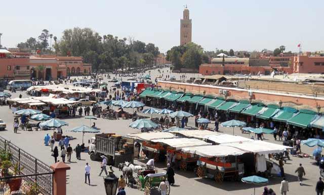 Marrakech élue meilleure destination africaine en 2012