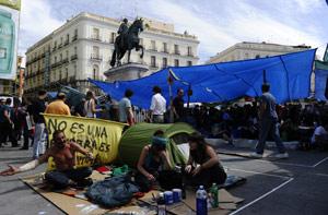 Des dizaines milliers de jeunes espagnols exigent «Une vraie démocratie, maintenant !»