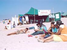 Livres sur la plage : fin de l'opération