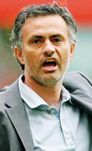 Inter Milan: Mourinho interdit de banc de touche pour trois matches
