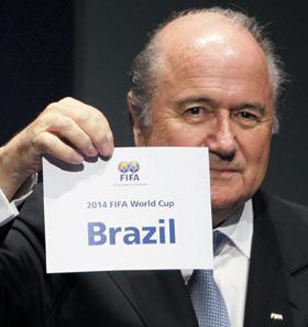 Mondial-2014 : Le Brésil fête en vert et jaune l'événement