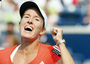 La joueuse belge Justine Henin confirme son retour