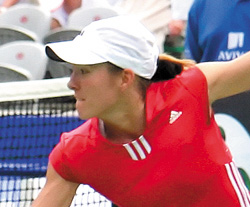 Justine Henin est Miss Roland-Garros