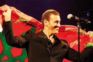 Festival de Fès : Kadem Saher chante la paix et l'amour