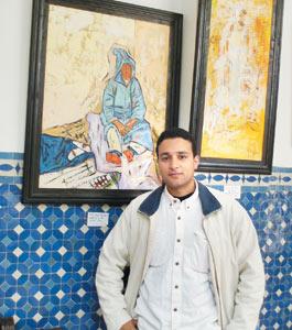 Kamal Rouahi expose ses toiles