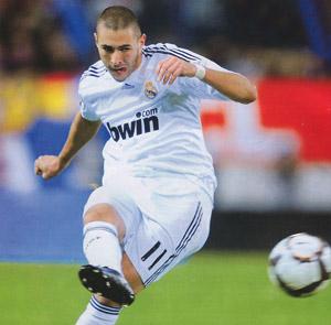 Leicester-Real Madrid : Karim Benzema, buteur et passeur