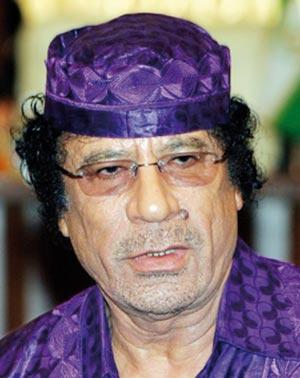 Kadhafi impute à Washington la responsabilité d'un crime odieux