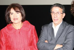 Khadija Assad et Aziz Saâdallah célèbrent les amours