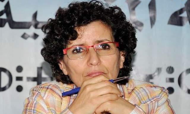 Khadija Erryadi : «La dégradation de la situation exige le rassemblement  des défenseurs des droits de l Homme»