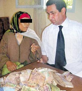 Khadouj, riche et mendiante