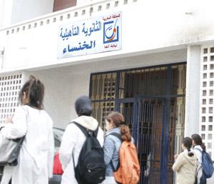 Le lycée Al Khansa, un monument  à l'épreuve du temps