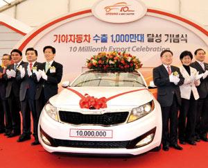 Kia Motors : Dix millions de véhicules dans la nature