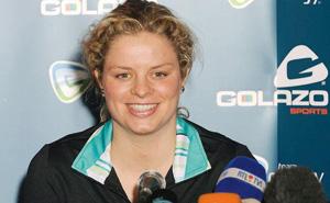 Tennis : la Belge Kim Clijsters continue sa promenade de santé