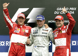 Canada : Mercedes devance Ferrari