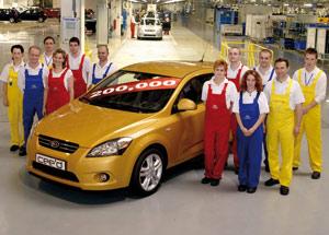 Kia Cee'd : Déjà 200.000 unités produites