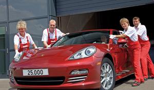 Porsche : 25.000 Panamera en moins d'un an