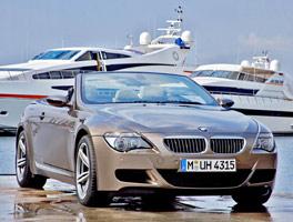 Automobile : BMW M6 cabriolet : Hors-bord de route