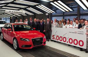 Audi A4 : Et de cinq… millions !