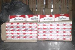 Contrebande : Des cigarettes qui grillent