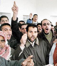 Palestiniens et Israéliens pris au piège