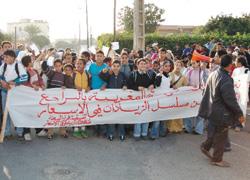Une marche nationale contre la vie chère