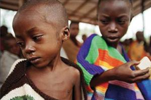 Indice de la faim dans le monde 2010 : la faim sévit dans 29 pays
