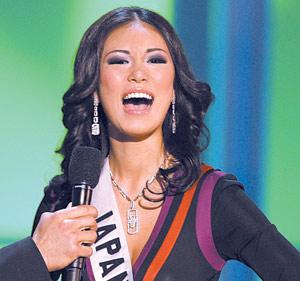 Riyo Mori : Miss Univers 2007