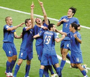 L'Italie, une victoire méritée