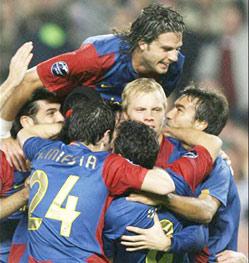 Le Barça se qualifie de justesse