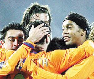 Ligue des champions : Le Barça en sursis
