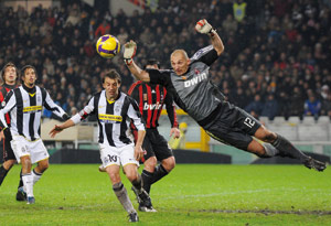 La Juventus s'impose à Milan