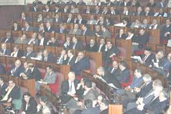 Parlement : une session décisive