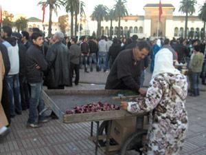 Une journée à la Place Mohammed V