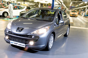 Peugeot 207 : Déjà millionnaire